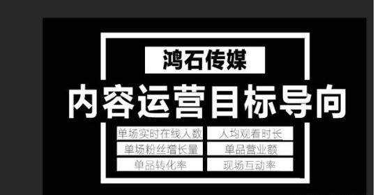 淘宝直播内容运营核心思路 产品运营 第3张